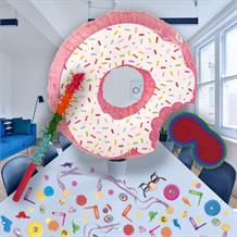 Doughnut | Donut Sprinkles Pinata Party Kit with Sweets, Favours and Confetti