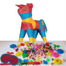 Bull Pinata Party Kit with Sweets, Favours and Confetti