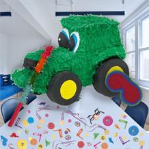 Tractor Pinata Party Kit with Sweets, Favours and Confetti