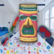 Tiki Hawaiian Pinata Party Kit with Sweets, Favours and Confetti