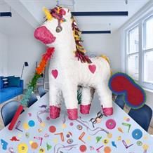Unicorn Pinata Party Kit with Sweets, Favours and Confetti