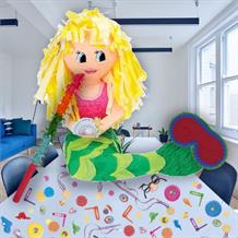 Mermaid Pinata Party Kit with Sweets, Favours and Confetti