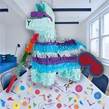 Battle Royal | Gaming Llama Pinata Party Kit with Favours and Confetti