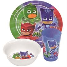PJ Masks Tumbler | Bowl | Plate Mealtime Set