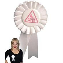 Hen Party | L Plates | Bride to Be Rosette Badge