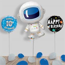 Inflated Space | Aliens Birthday Helium Balloon Package in a Box