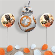 Inflated Star Wars BB8 Helium Balloon Package in a Box