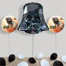 Inflated Star Wars Darth Vader Helium Balloon Package in a Box