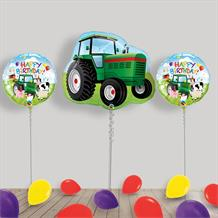 Inflated Tractor | Farm Helium Balloon Package in a Box