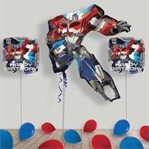 Inflated Transformers Optimus Prime Helium Balloon Package in a Box