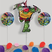 Inflated Teenage Mutant Ninja Turtles Helium Balloon Package in a Box