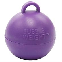 Purple Bubble Balloon Weight 35g Table Centrepiece | Decoration