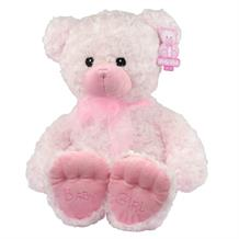 Pink Baby Girl Plush Soft Toy Bear | Teddy | Baby Shower Gift