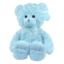 Blue Baby Boy Plush Soft Toy Bear | Teddy | Baby Shower Gift