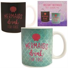 Mermaids | Drink for Free Heat Changing Drinking Mug | Cup