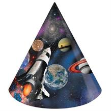 Space Blast | Rocket Party Favour Hats