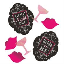 Hen Party | Bride To Be Table Confetti | Decoration