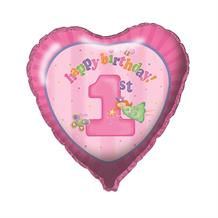 1st Birthday Fun Girl Foil | Helium Balloon