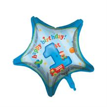 1st Birthday Fun Boy Foil | Helium Balloon