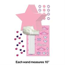 Princess Party Favour Decorate your Own Wand Kit