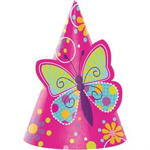 Butterfly Sparkle Party Favour Hats