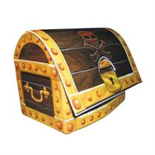 Pirate Treasure Chest Party Table Centrepiece | Decoration