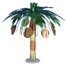 Coconut Tree Hawaiian Luau Table Centrepiece