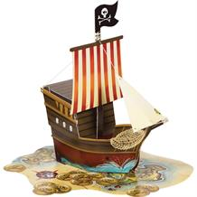 Pirate Map Party Table Centrepiece | Decoration