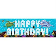 Ocean Giant Party Banner | Decoration