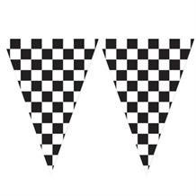 Chequered Flag Racing Flag Banner | Bunting | Decoration