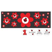 Ladybird Giant Party Banner | Decoration