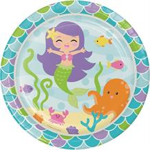 Mermaid Friends Party Plates