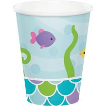 Mermaid Friends Paper Party Cups
