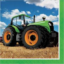 Tractor Time Party Napkins