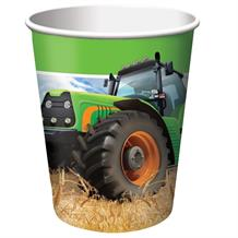 Tractor Time Party Cups