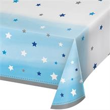 Blue Twinkle Star Party Tablecover | Tablecloth