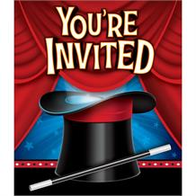 Magic Party Invitations | Invites