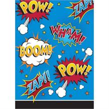Superhero Slogans Cartoon Party Favour Loot Bags