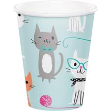 Purrfect Cat Party Cups