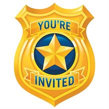 Police Party Invitations | Invites