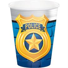 Police Party Cups