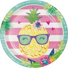 Pineapple and Friends Party 23cm Party Plates