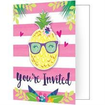 Pineapple and Friends Party Invitations | Invites