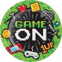 Gaming | Game On Party 23cm Party Plates