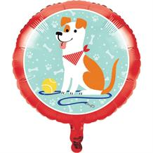 "Dog Party 18"" Foil 