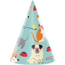 Dog Party Favour Hats