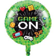 "Gaming | Game On Party 18"" Foil 