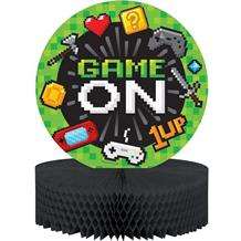Gaming | Game On Party Honeycomb Table Centrepiece | Decoration