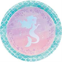 Mermaid Shine Party 23cm Party Plates