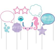 Mermaid | Under the Sea Photo Booth Party Props